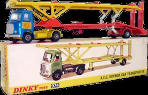 AEC Hoynor car transporter Dinky-Toys