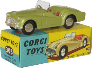 Triumph TR3 Corgi-Toys