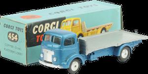 Commer 5 tonnes à plateforme Corgi-Toys
