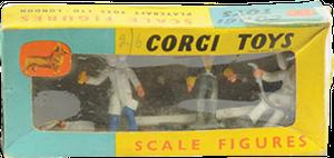 Personnel de garage Corgi-Toys