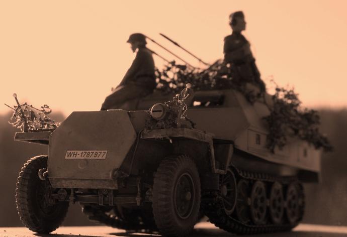 sd.kfz 251/21 ausf D AFVclub 1/35 120115030830667019301644
