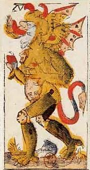 "La carte du tarot ""Le Diable"" 120119052944385009319463"