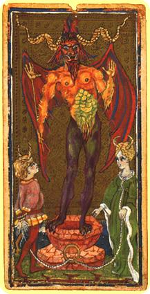 "La carte du tarot ""Le Diable"" 120119052945385009319464"