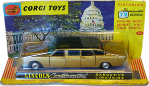Lincoln Continental executive limousine Corgi-Toys