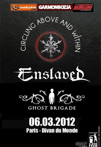 Enslaved @ Paris