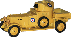Rolls-Royce Silver Ghost armoured car Matchbox