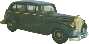 Bentley S2 standard steel saloon Minichamps