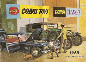 Catalogue Corgi-Toys 1965