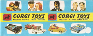 Catalogue français Corgi-Toys 1966