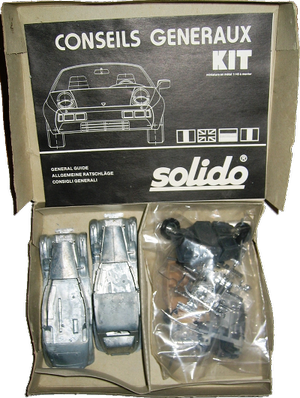 Rolls-Royce Phantom III kit Solido