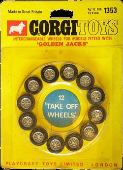 Pack de roues de rechange Corgi-Toys