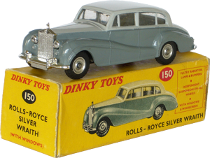 Rolls-Royce Silver Wraith Dinky-Toys