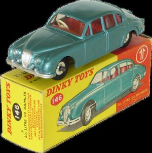 Daimler V8 2.5 Litre Dinky-Toys