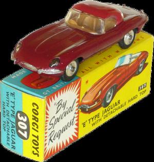 Jaguar Type E Corgi-Toys