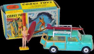 B.M.C Mini Countryman Corgi-Toys