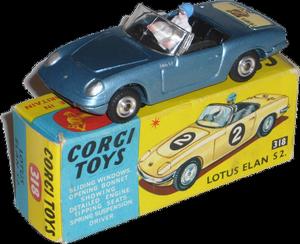Lotus Elan S2 Corgi-Toys