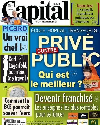 Capital No.245 - privé contre public