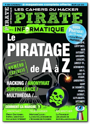 CD Pirate Informatique No12 Février à Avril 2012 ISO Fr (exclue) [MULTI]