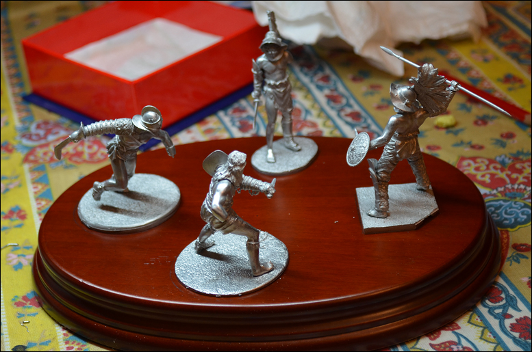 Gladiateurs Pegaso 54mm diorama  1202060518551180079402754