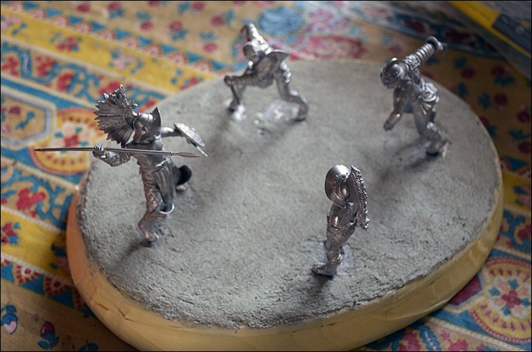 Gladiateurs Pegaso 54mm diorama  1202060518551180079402757