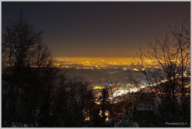La ville sous la neige Version nuit & jour ... 1202060938151005929400351