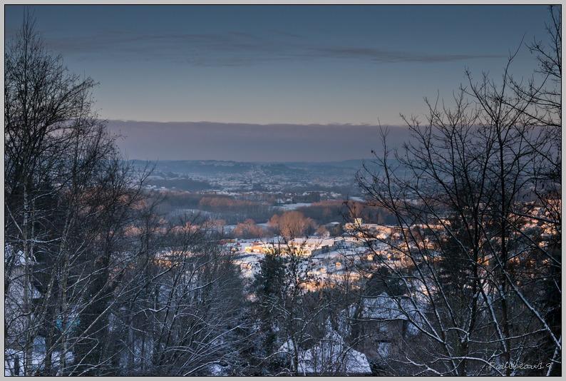 La ville sous la neige Version nuit & jour ... 1202060938271005929400352