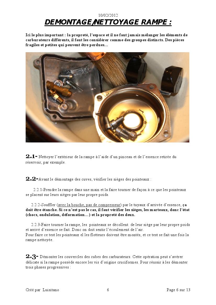[TUTO]Démontage et nettoyage rampe carburateurs. 1202110638541118719425067