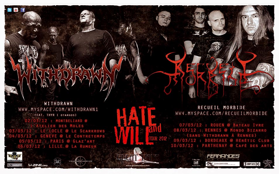 HATE & WILL TOUR Mars 2012  120212032503819009428562