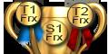Vainqueur Tournois 1 et  2 de FRx   Vainqueur Saison 1   du Championnat des Maisons