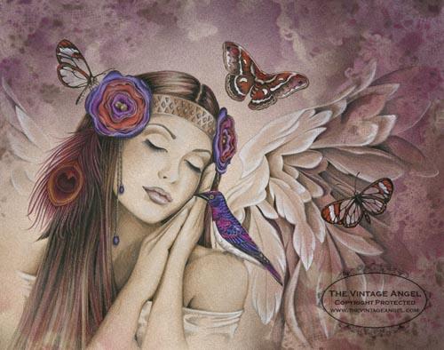 Dans un champ de fleurs dans Anges 120221082459803579469372