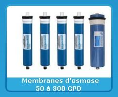 Pompes pour osmoseurs