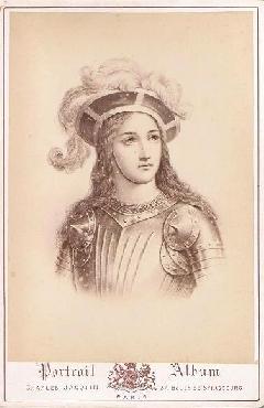 Cabinet Portrait - Jeanne d'Arc
