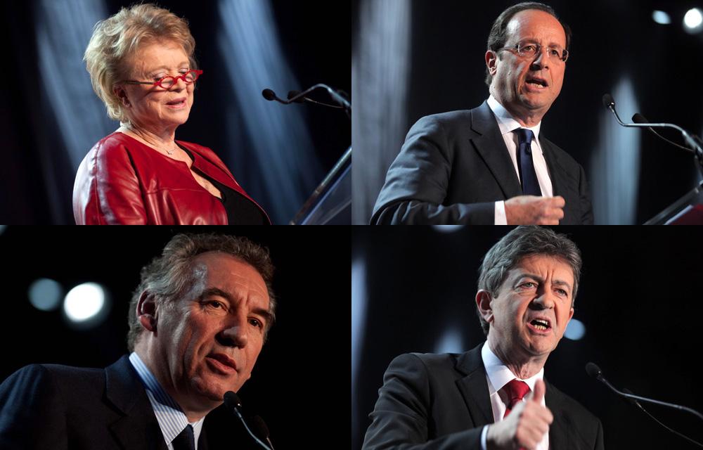 Congres-FNE-Hollande-Joly-Melenchon-Bayrou