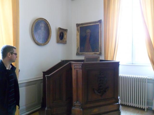 Visite au Musée de l'école de médecine navale 1202290542001415039513334