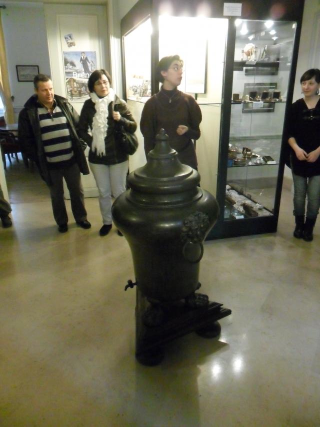 Visite au Musée de l'école de médecine navale 1202290542341415039513342