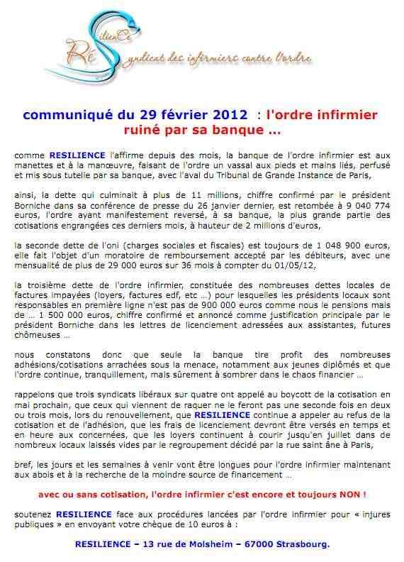 communiqué du 29 février 2012. 01jpg