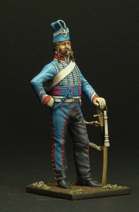 Maréchal des logis du 10 ème Hussard, tenue de cantonnement 120301103254359349519299