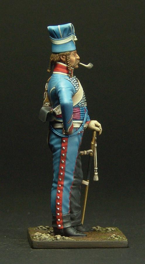 Maréchal des logis du 10 ème Hussard, tenue de cantonnement 120301103254359349519300