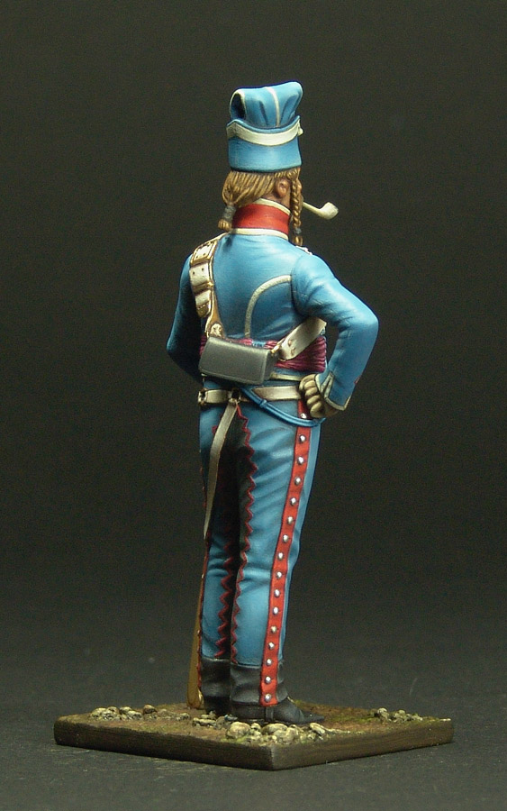 Maréchal des logis du 10 ème Hussard, tenue de cantonnement 120301103254359349519301