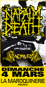 Napalm Death @ Paris