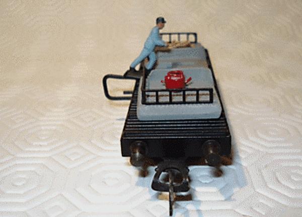 Pocher wagon renversement photo 1