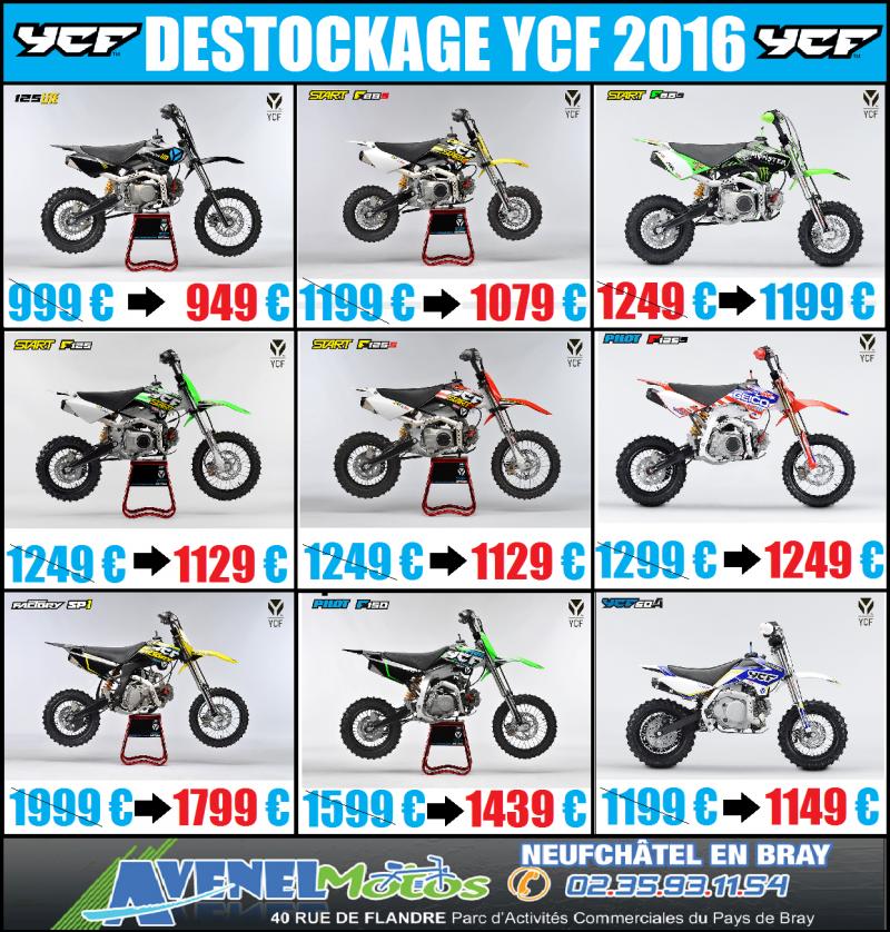 YCF DESTOCKAGE 2016