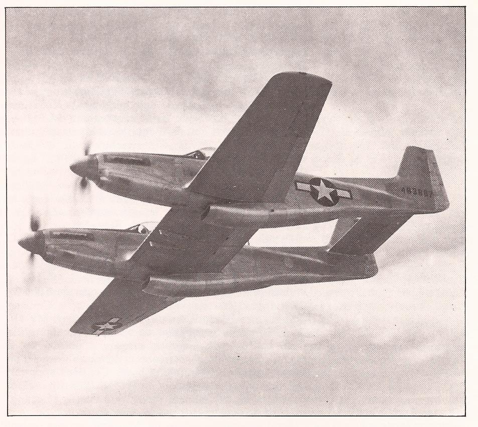 P 82 Twin Mustang