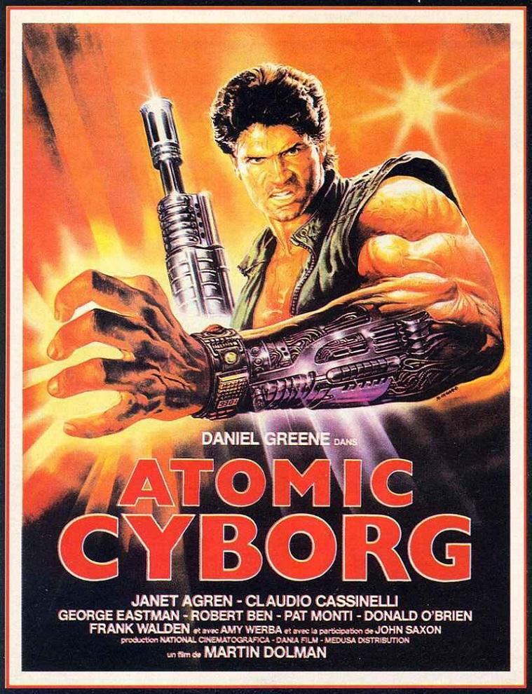L'AFFICHE : ATOMIC CYBORG (1986) dans CINÉMA 17022408382815263614871457