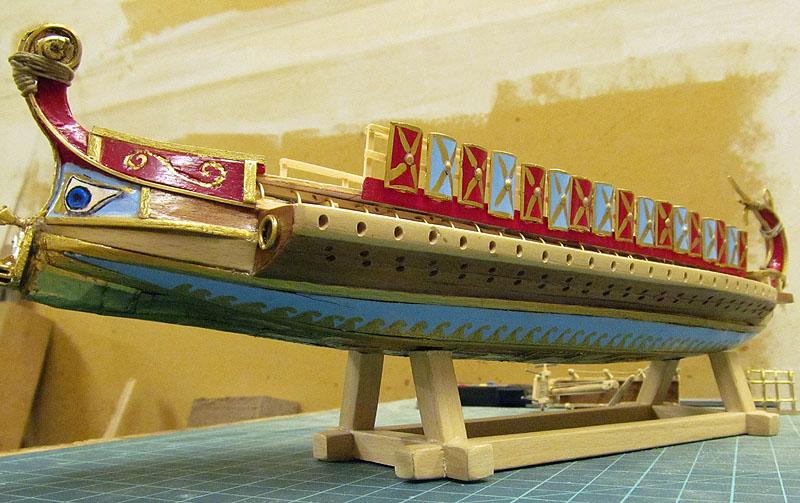 Construction d'une trirème romaine - 1/72 - Scratch - Page 3 17022709053118121214879830
