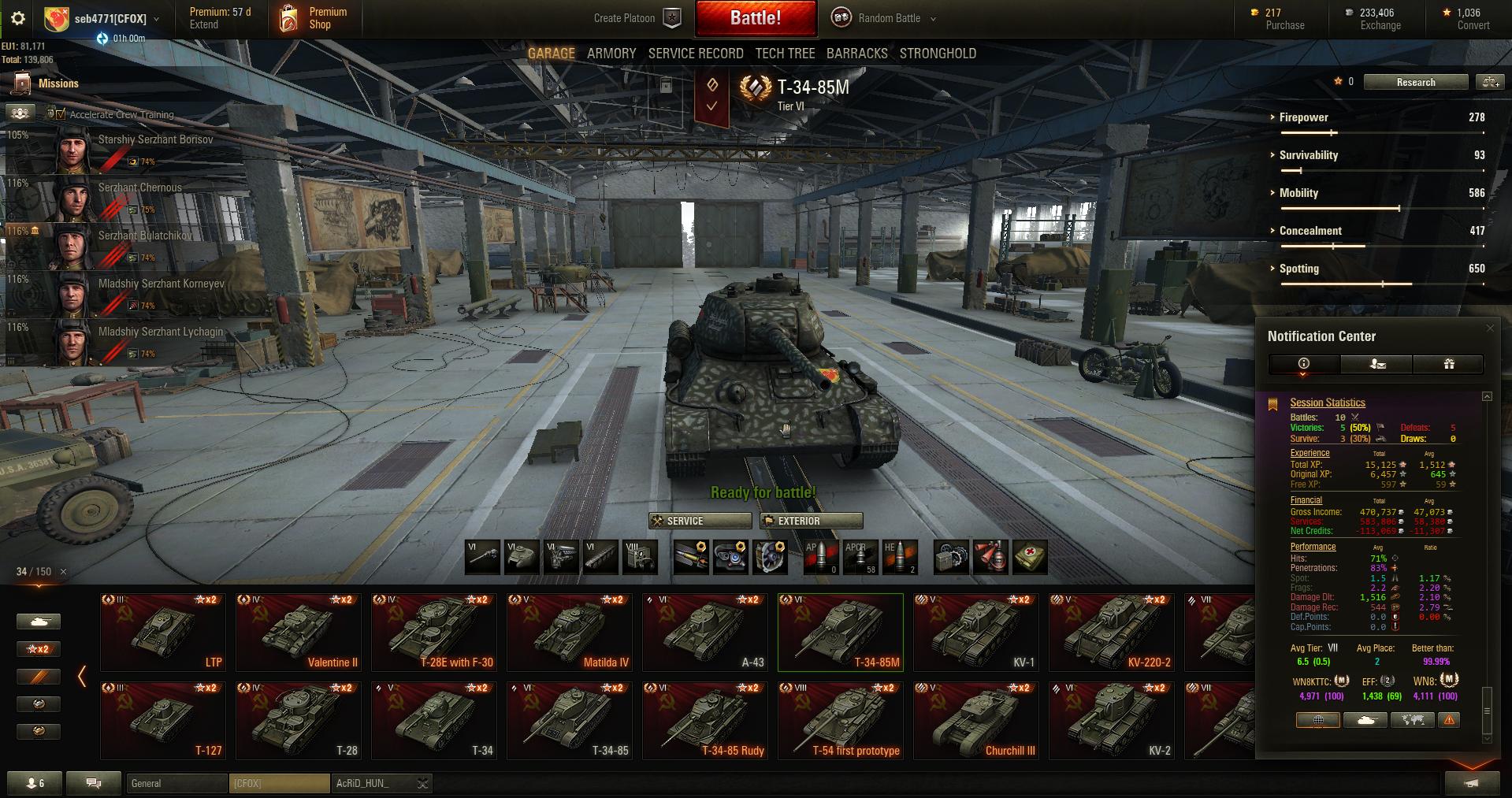 T34-85M pas OP