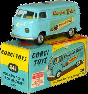 Volkswagen Kombi Toblerone Corgi-Toys
