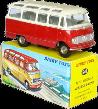 Petit autocar Mercedes-Benz Dinky-Toys