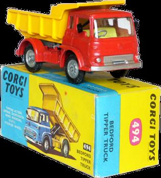 Bedford benne Corgi-Toys