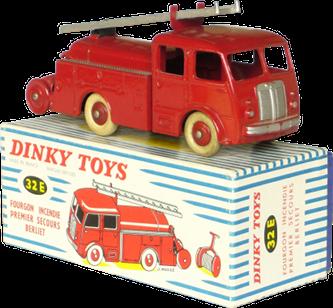 Berliet GLB 19 Premier secours Dinky-Toys